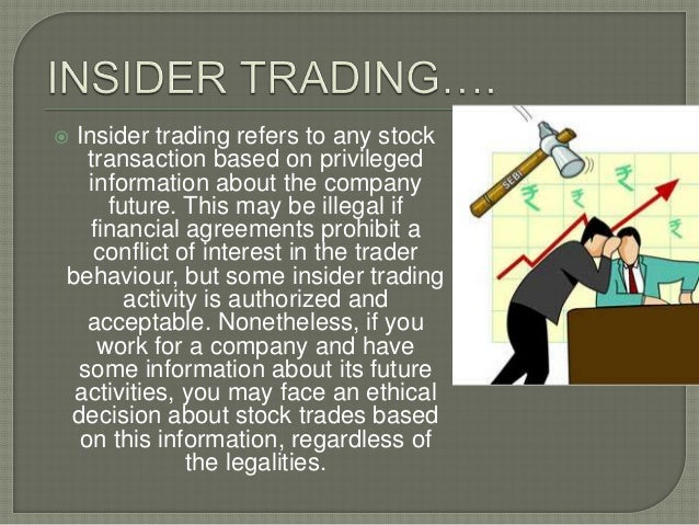 How can insider trading benefit the markets? - Quora