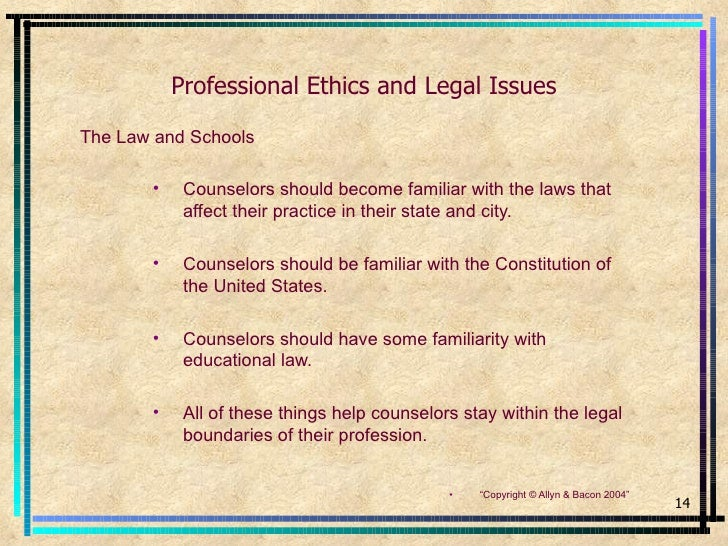 counseling ethics essay