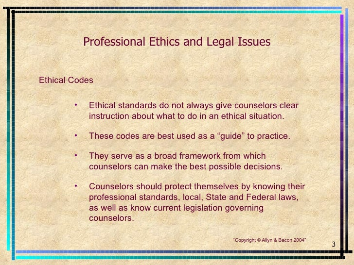 ethical issues counselling essays What is wrong with the ethical framework  legal issues for counselling children and young people in england, wales and northern ireland in school contexts.