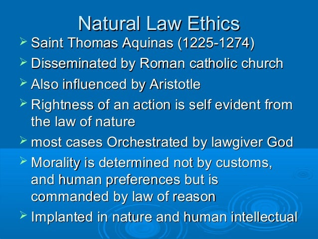 an analysis of the laws according to saint thomas aquinas St thomas aquinaswidely known as a key contributor to the roman catholic church's body of doctrine, st thomas aquinas also published an opinion on the moral status of embryos and fetuses that seems contradictory to the.