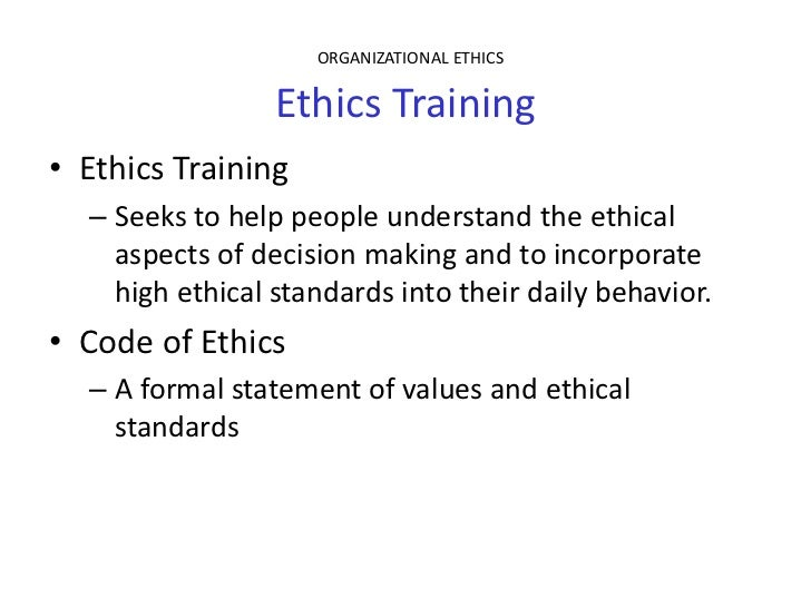 an ethical code for everybody in The code expresses the principles of company ethics which must characterize every phase of the manufacturing process this ethics code is applicable to the group and consequently is binding for the behavior of all of its everyone is responsible for observing the health and safety rules and the practices involved in.