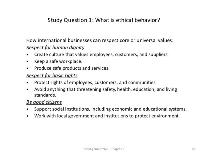 ethical behavior in research But organizations don't always have fool-proof ways to combat unethical behavior new research by kouchaki and wareham an individual difference in how people think about ethical decisions and behavior that allows them to act unethically without feeling bad about it.