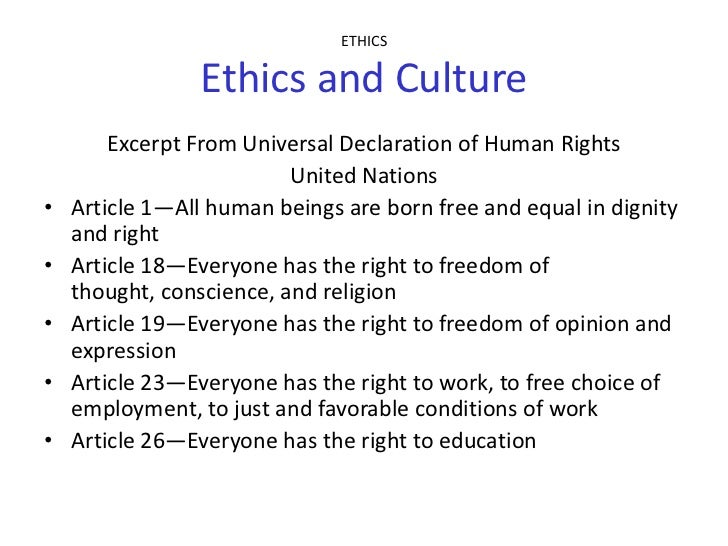 human rights essay outline