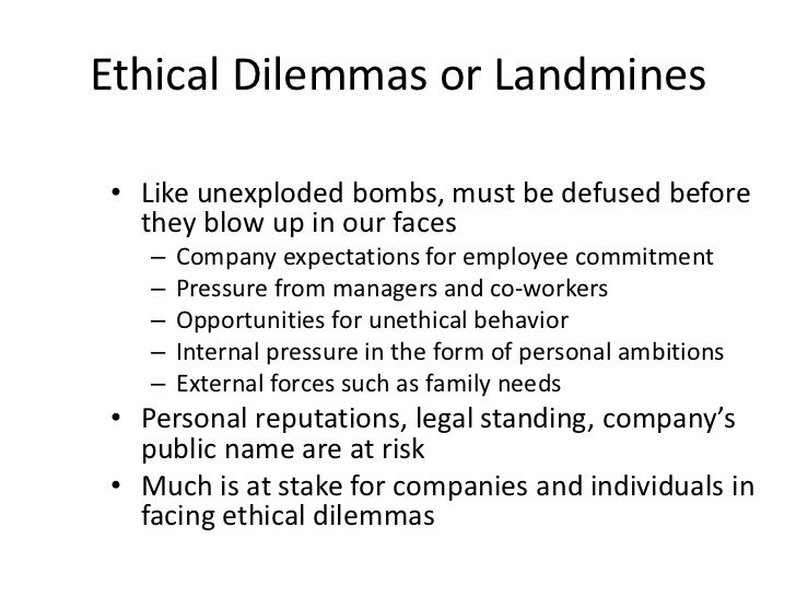 essays on ethical dilemmas