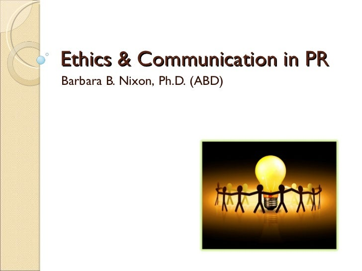 The Ethical Public Relations Practitioner