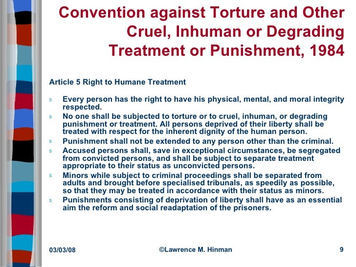 ethics of torture Because of the duty to promote and protect prisoners' wellbeing, physicians who  work in prisons should monitor human rights during their.