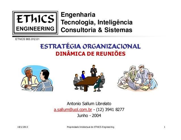 Engenharia                          Tecnologia, Inteligência                          Consultoria & SistemasEThICS 903.012...