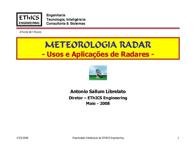 Engenharia EThICS                Tecnologia, Inteligência ENGINEERING           Consultoria & Sistemas  EThICS 907.F03.00 ...