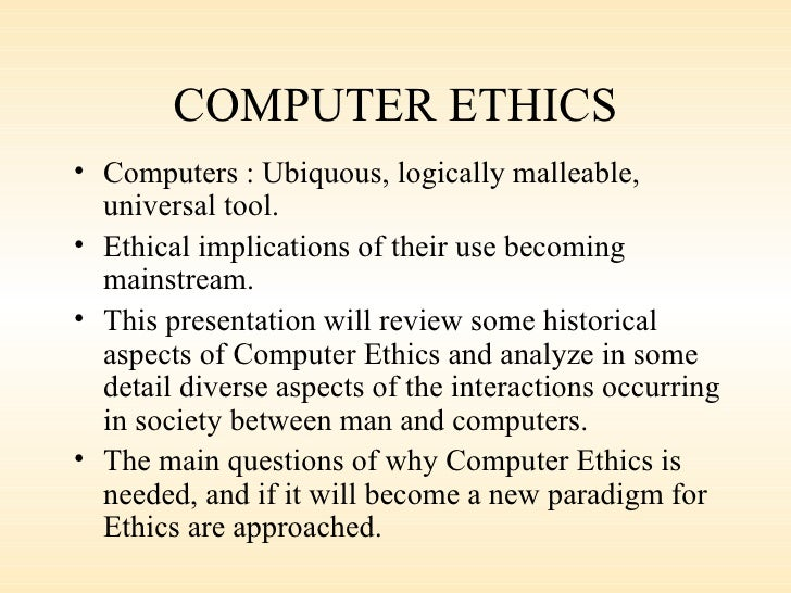 technology ethics essay Read this essay on ethics in future technology come browse our large digital warehouse of free sample essays get the knowledge you need in order to pass your classes and more.