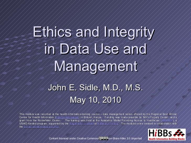 Data Quality: Missing Data (PPT slides)