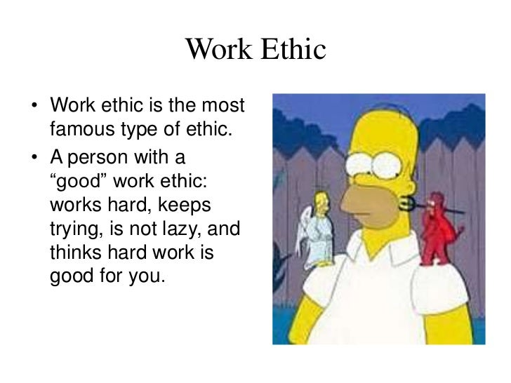 ethics and manners