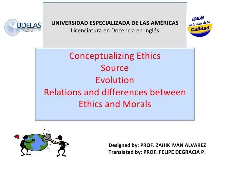 UNIVERSIDAD ESPECIALIZADA DE LAS AMÉRICAS Licenciatura en Docencia en Inglés Designed by: PROF. ZAHIK IVAN ALVAREZ Transla...
