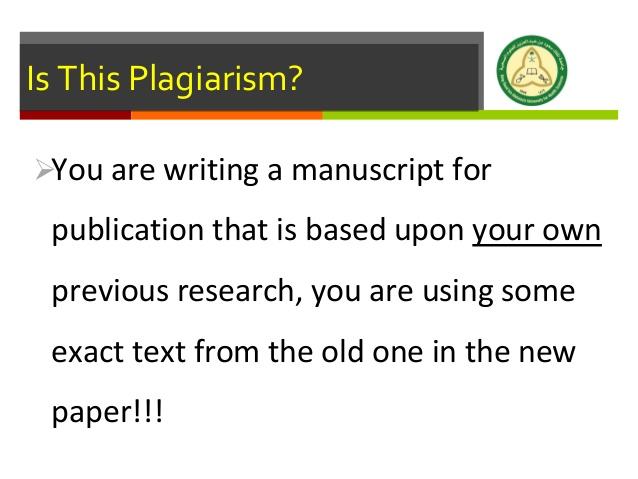 Dissertation Plagiarism Detection - USF Office of Graduate Studies