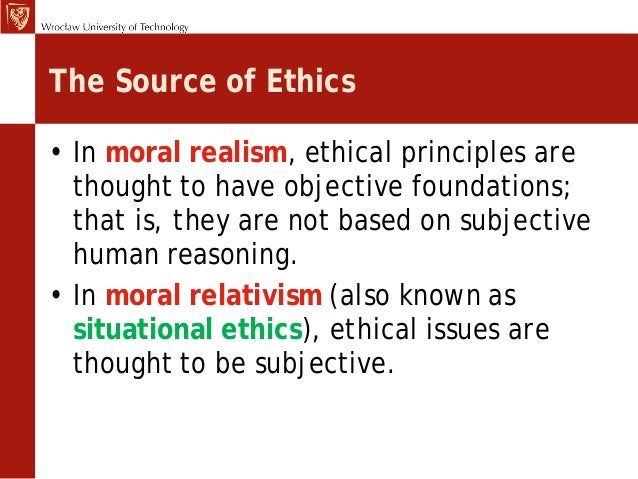 Ethics, definitions & theories