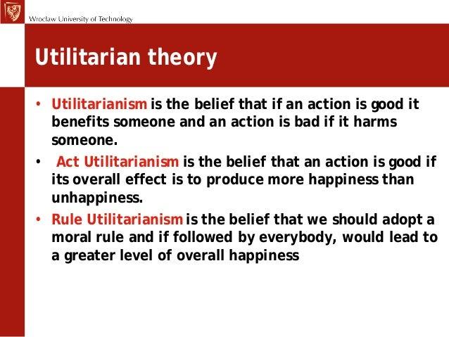 Essay utilitarianism ethics