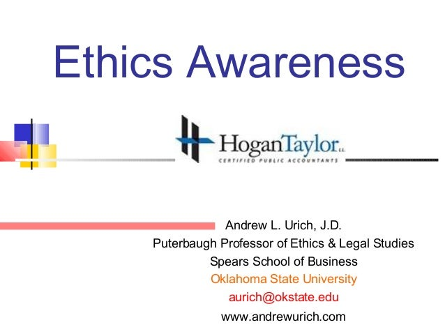 Ethics Hogan Taylor December 12, 2012