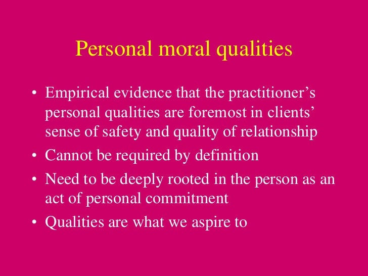 ethical commitment and personal values of Ethics and business success overview ethics are the principles of right and consideration our personal values the business ethics book high commitment.