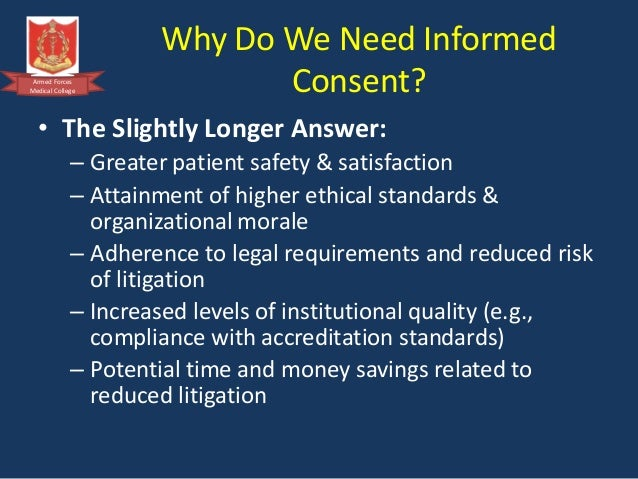 Informed consent ethics essay