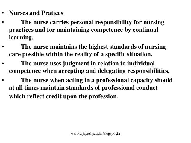 "personal ethics in nursing According to the new oxford american dictionary, ethics is defined as ""moral principles that govern a person's or group's behavior"" therefore, in an ideal."
