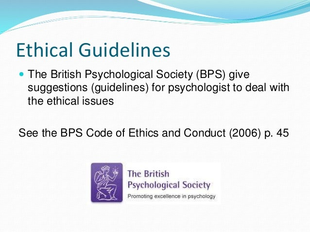 ethical issues with case studies in psychology Ethical issues in psychology order description assessment instructions this assessment includes two parts compile both parts into one document for submission follow the instructions.