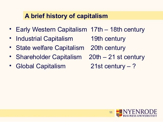 business ethics in a capitalist world
