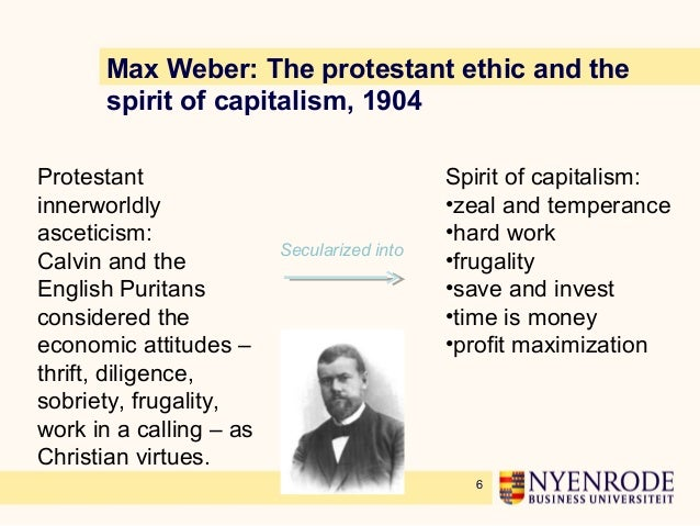 the protestant ethic and the spirit of capitalism criticisms of weber thesis Within his book the protestant ethic and the spirit of capitalism witnessed in western capitalism was been considered by weber as the process of reasoning.