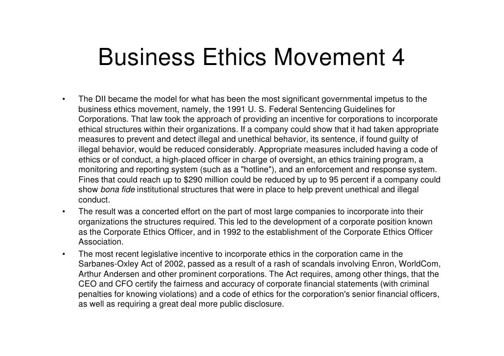 are ethics and business compatible Business ethics and anti-corruption regulation and enforcement are  and their  admissibility and compatibility with compliance guidelines, business ethics, and.