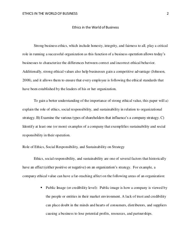 business ethics essay paper Business ethics term paper writing service and essay writing help business ethics term paper writing service introduction you just require to understand some tricks.