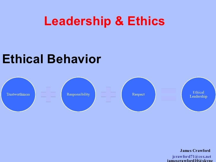 ethical leadership in business essays