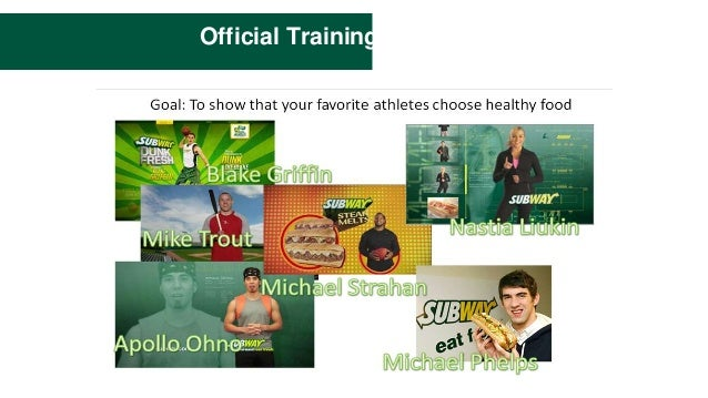 subways marketing strategies Looking for newest subway swot analysis for marketing and promotional strategies subway employs superior marketing techniques and promotional strategies to.