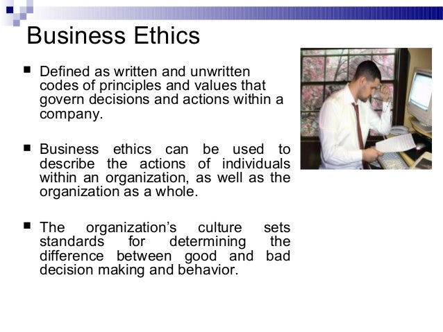 business decisions within your company essay