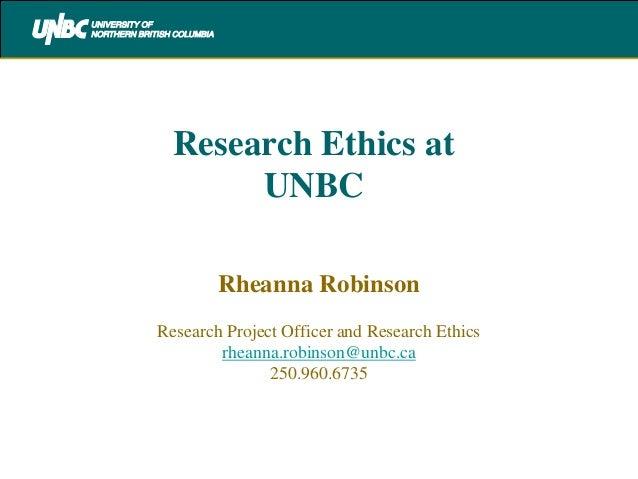 Ethics presentation for grad student orientation sept 2012