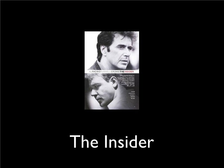 the insider movie ethics
