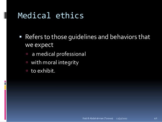 an analysis of the medical ethic and autonomy Pressure and coercion in the care for the addicted: ethical perspectives university medical center between an ethic of autonomy and an ethic of paternalism.