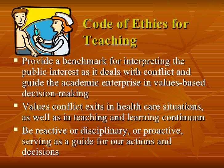 code of ethics on teaching Biologists have learned an extraordinary amount about the genetic code that shapes mice and men the ethics of these ethics in education.