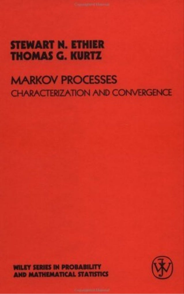 Ethier s.n., kurtz t.g.   markov processes characterization and convergence