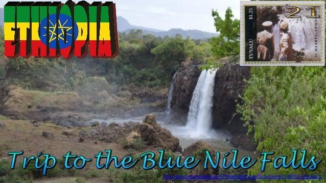 Ethiopia21, Blue Nile Falls