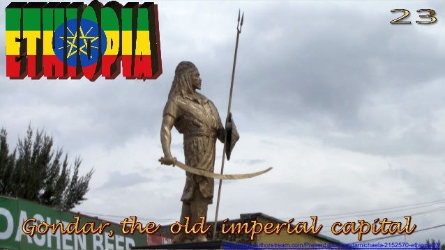 Gondar, the old imperial capital