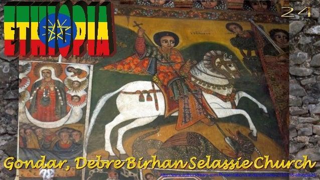 Gondar, Debre Birhan Selassie Church