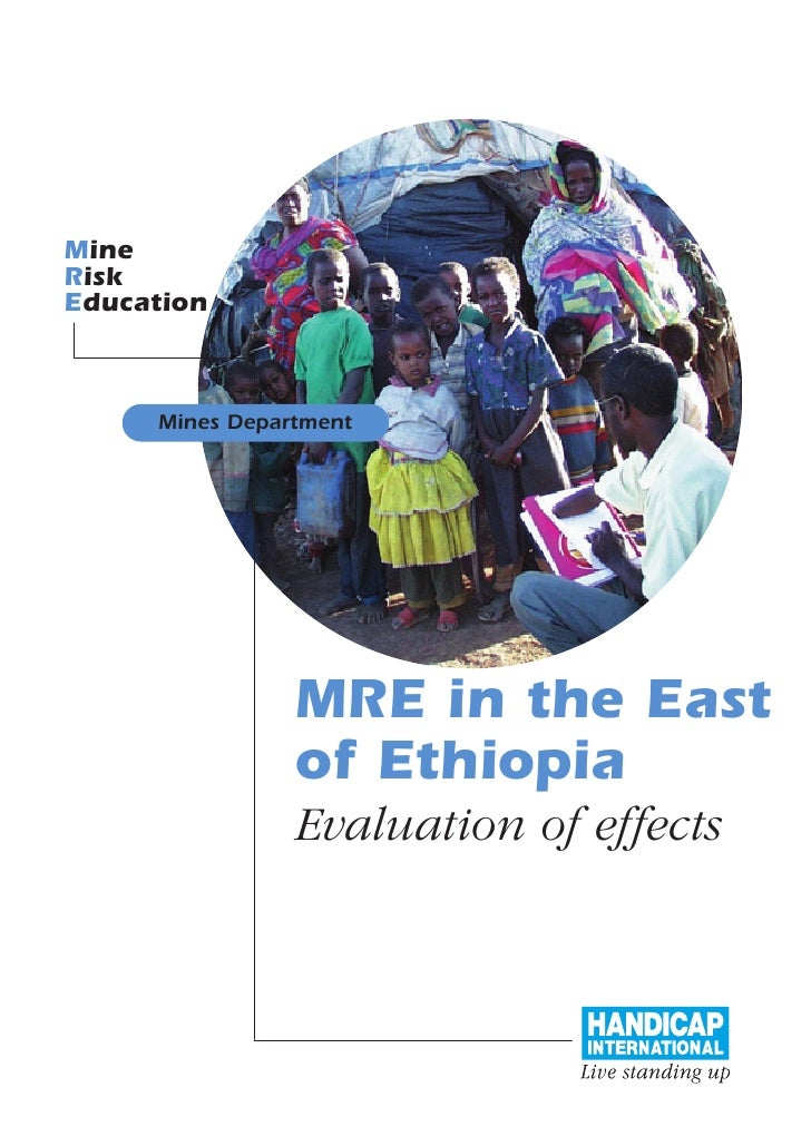 Mine Risk Education         Mines Department                     MRE in the East                 of Ethiopia              ...