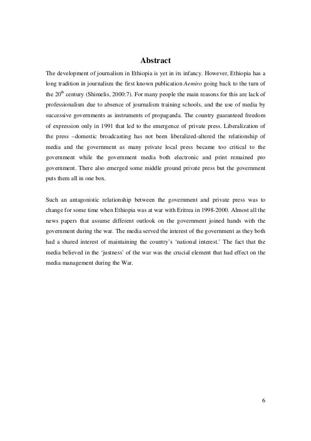 eritrea publication