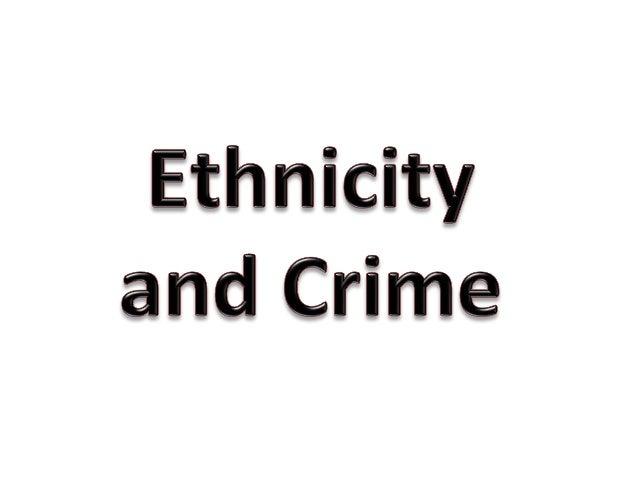 Ethnicity&crime1