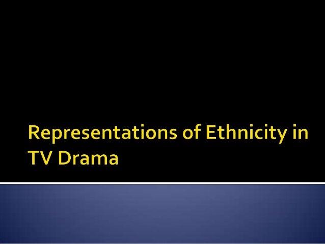 Ethnicity representations