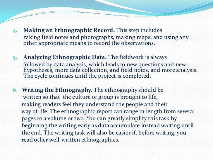auto ethnographic essay
