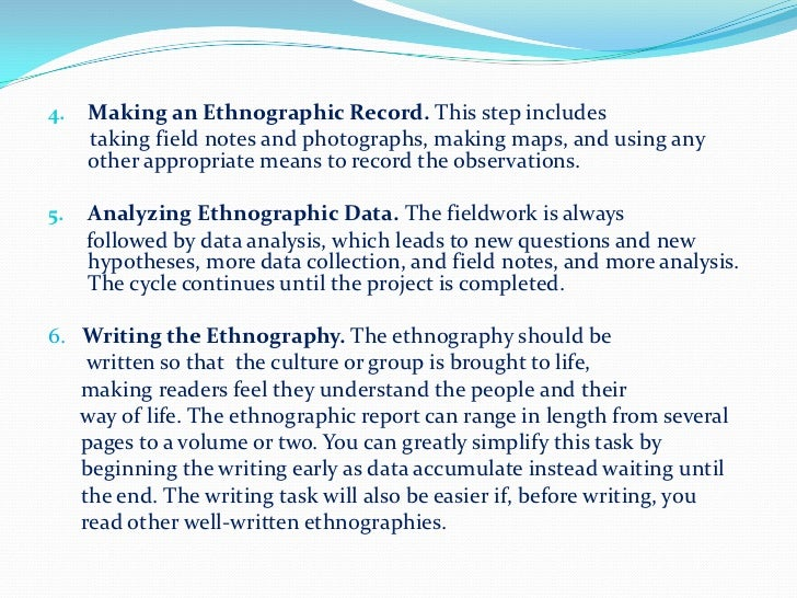 Where can I find ethnographic reports?