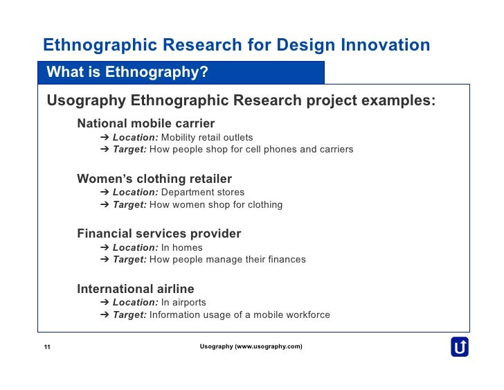 nursing ethnographic essay View essay - dq3 1 from nursing nrs 433 at grand canyon university of arizona the three types of qualitative research are phenomenological, grounded theory, and ethnographic research what are the.