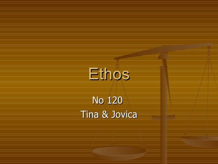 Ethos No 120  Tina & Jovica
