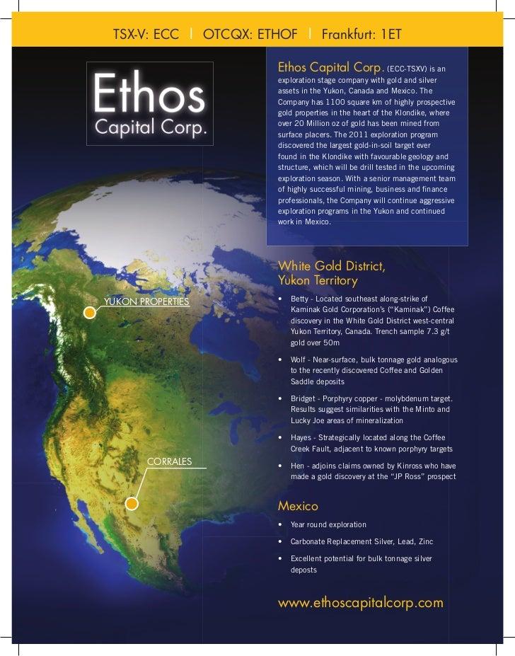 Ethos factsheet