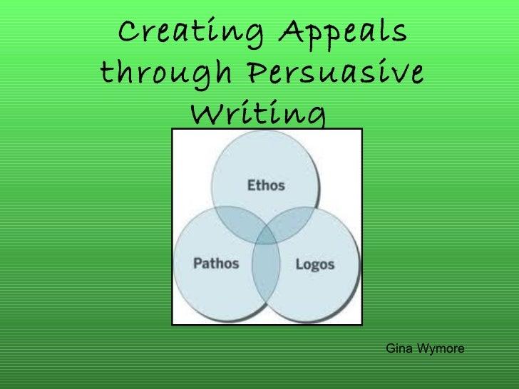 Gina Wymore ethos pathos logos powerpoint