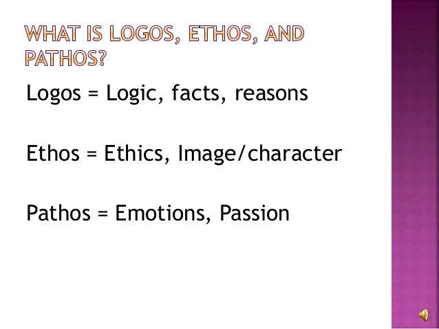 Logos, ethos, and pathos?!?!?